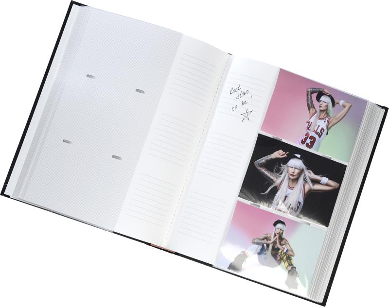 Focus Fotoalbum Exclusive Line - 300 Billeder - 10x15 - Sort