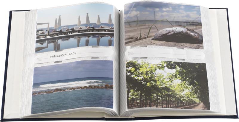 Focus Fotoalbum Classic Line - 200 Billeder - 10x15 - Blå