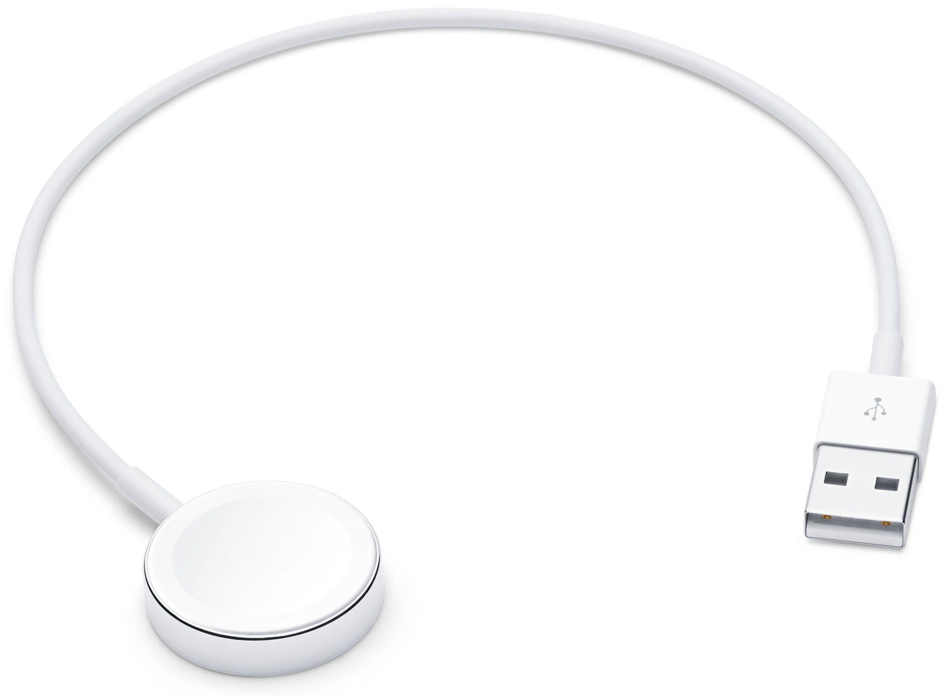 Apple (Mx2f2zm/a) Magnetisk Watch Oplader - 2 M