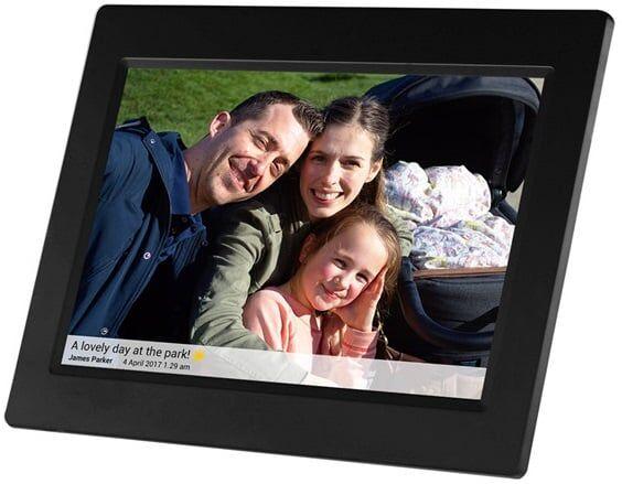 """Denver Pff-710black Digital Fotoramme - Frameo - 7"""" - Sort"""