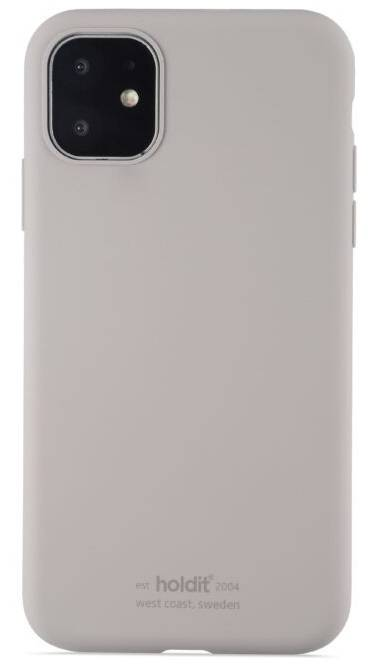 Holdit Silikone Cover Iphone 11 - Taupe