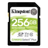 Kingston Canvas Select Plus Sdxc Kort - 256 Gb - Class 10