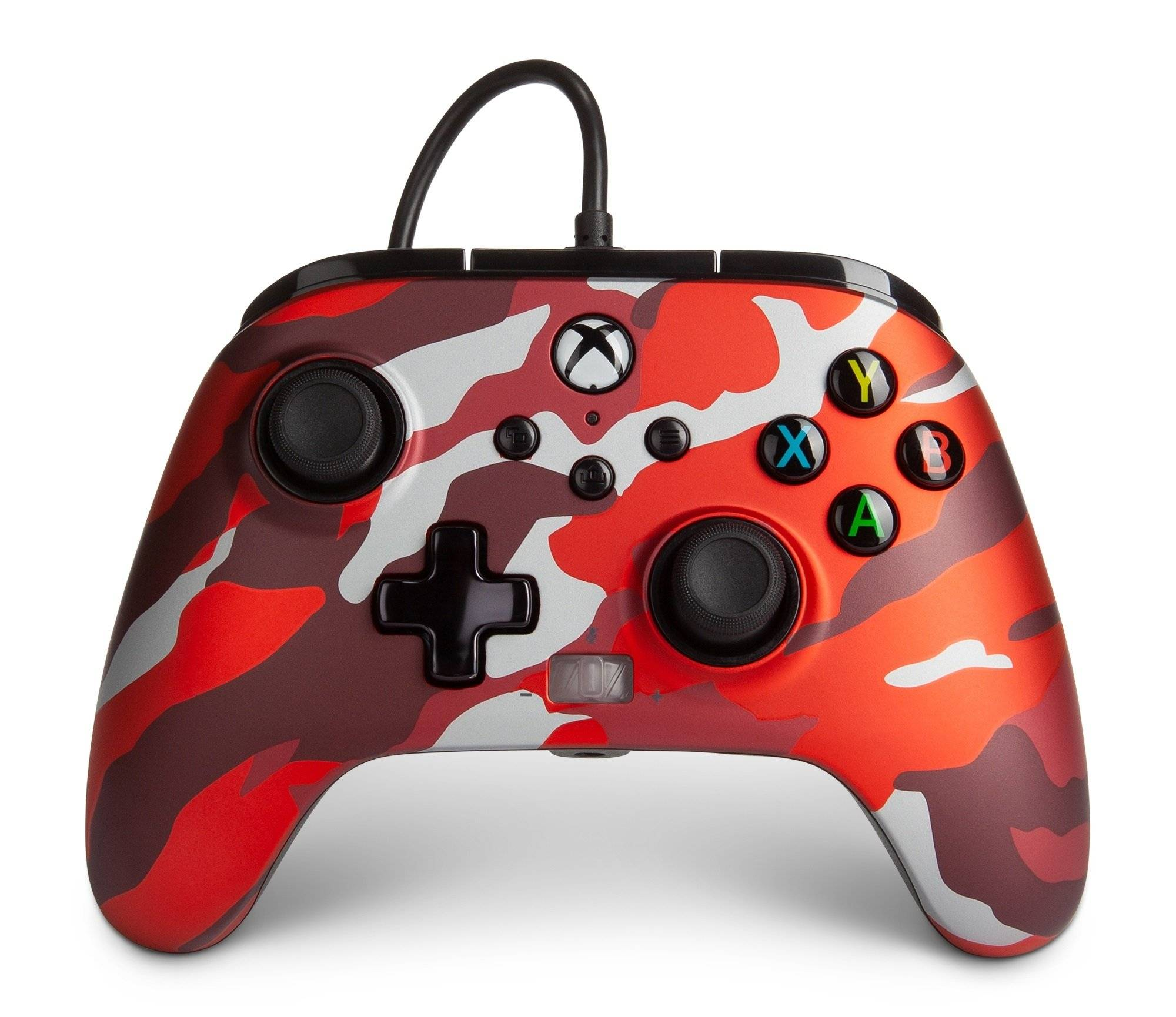 Powera Xbox Series S/x/one Kablet Controller - Red Camo