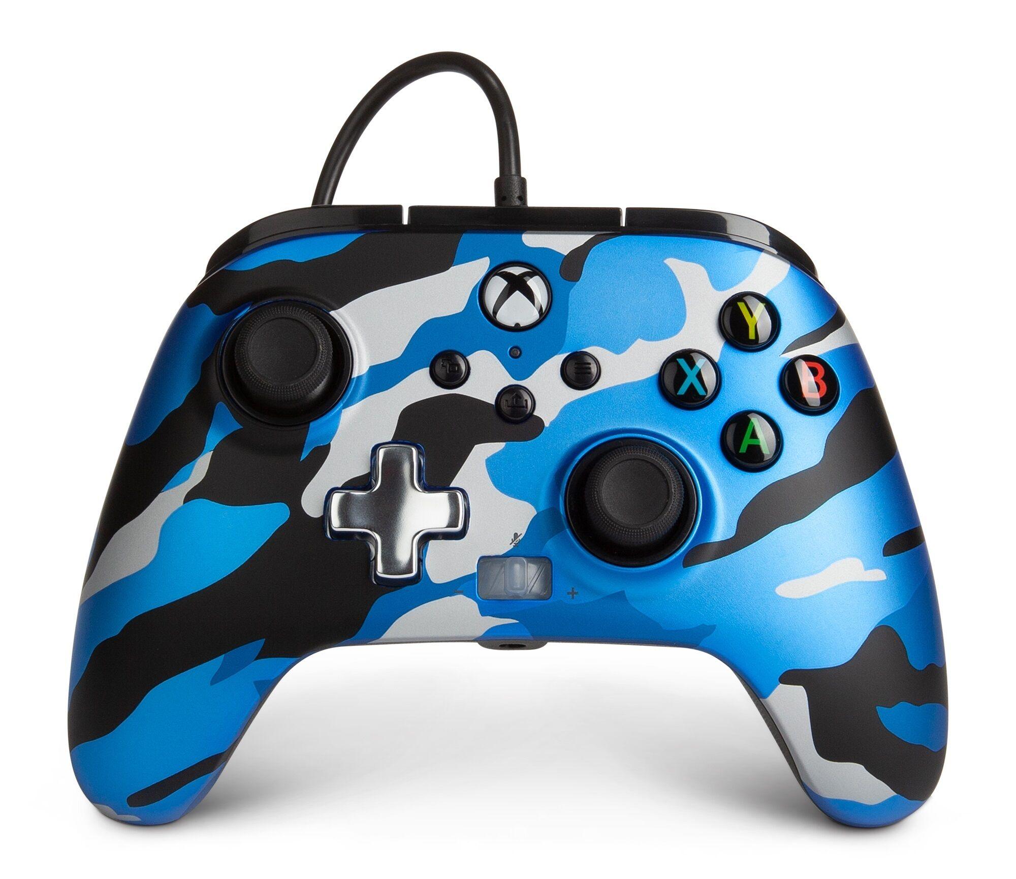 Powera Xbox Series S/x/one Kablet Controller - Blue Camo