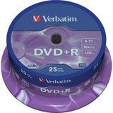 Verbatim DVD+R 4,7GB (16x) - 25 stk