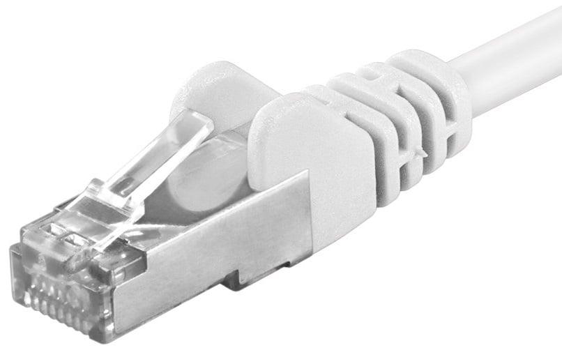 Cat 5e Sf/utp Netværkskabel - Hvid - 3 M