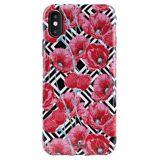 Puro 1 Puro Iphone X/xs Cover - Geo Flowers - Red Peonies