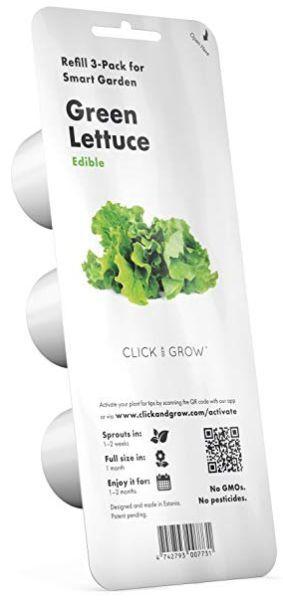 Click And Grow Plantekapsel - Grøn Salat - 3 Stk. Kapsler