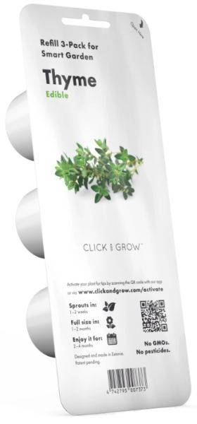 Click And Grow Plantekapsel - Timian - 3 Stk. Kapsler