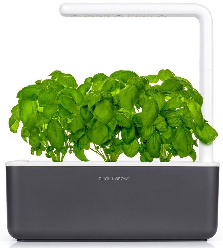 Click And Grow Smart Garden 3 - Grå - Starterkit