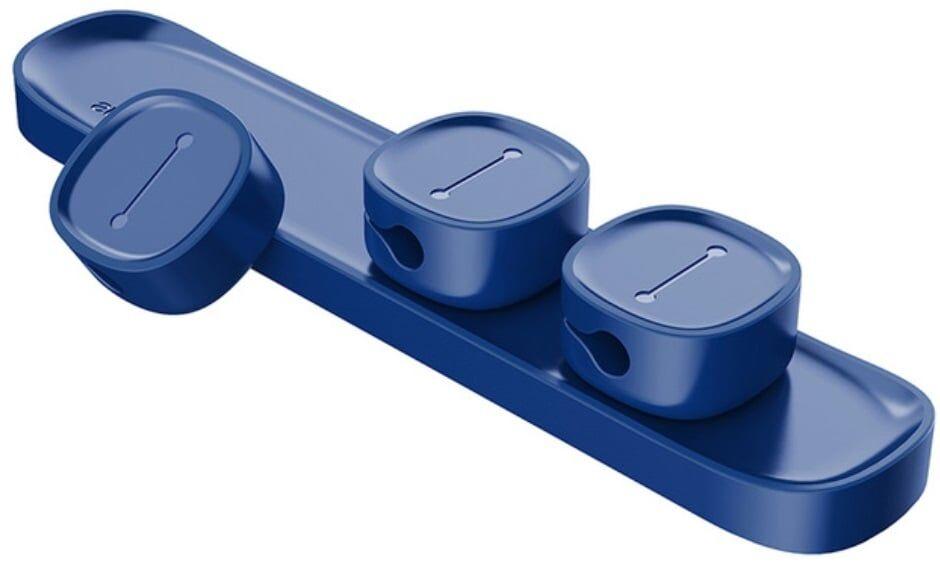 Baseus - Magnetisk Kabel Organizer - Blå