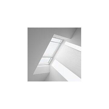 VELUX Plissegardiner - Hvid Flæs - 1257 (10 Cm X 10 Cm)