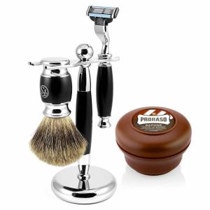 Trendhim Sort Modena Barbersæt