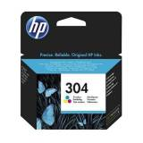 HP Blækpatron HP 304 Farve
