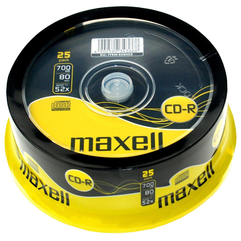 Maxell CD-R 52x 700MB 25-pack