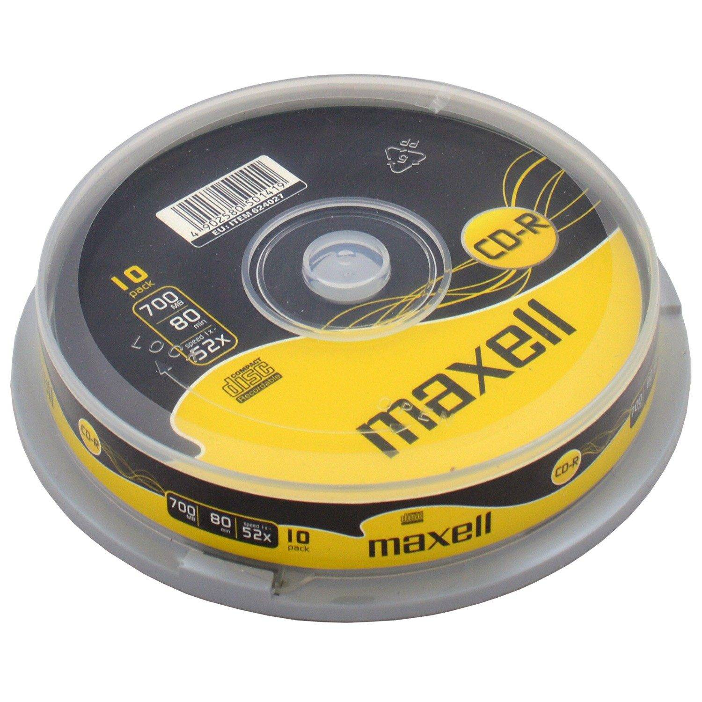 Maxell CD-R 52x 700MB 10-pack