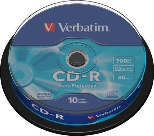 Verbatim CD-R 52x 700MB 10-pack