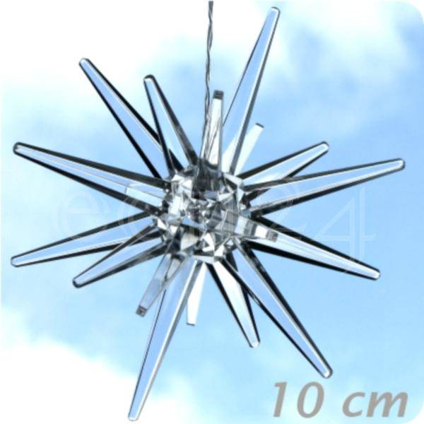 FDL LED-stjerne - kold hvid 10 cm