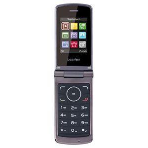 "Beafon C240 6,1 cm (2.4"") 118 g Negro - Teléfono móvil (Concha, SIM Doble, 6,1 cm (2.4""), Bluetooth, 800 mAh, Negro)"