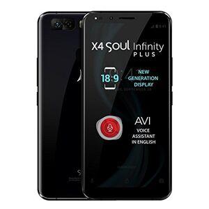 ALLVIEW X4 Soul Infinity Plus - Smartphone 4G Dual SIM, 6GB RAM, Pantalla de nueva generación de 18:9, 6, IPS, Full HD+, Doble cámara 13MP+5MP, Batería: 3,050 mAh