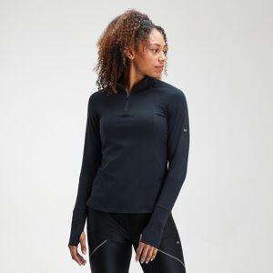 Mp Women's Velocity 1/4 Zip Top- Black - M