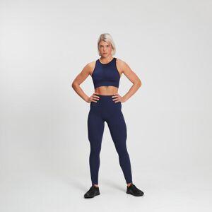 Mp Sujetador deportivo acanalado sin costuras Raw Training para mujer - Midnight - XS