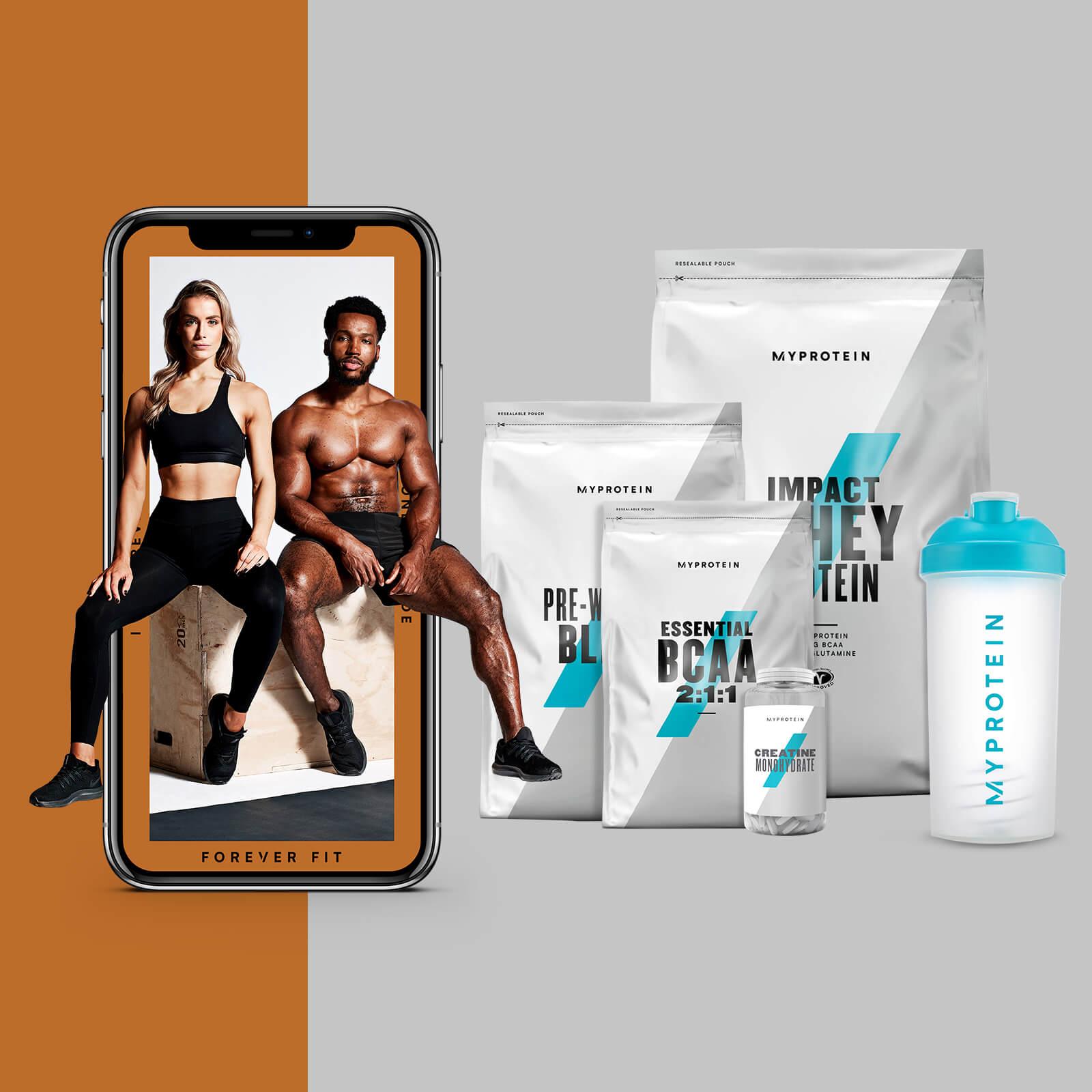 El Pack para Ganar Masa Muscular + Guía de entrenamientos y nutrición - Peach Mango - Blue Raspberry - Vanilla