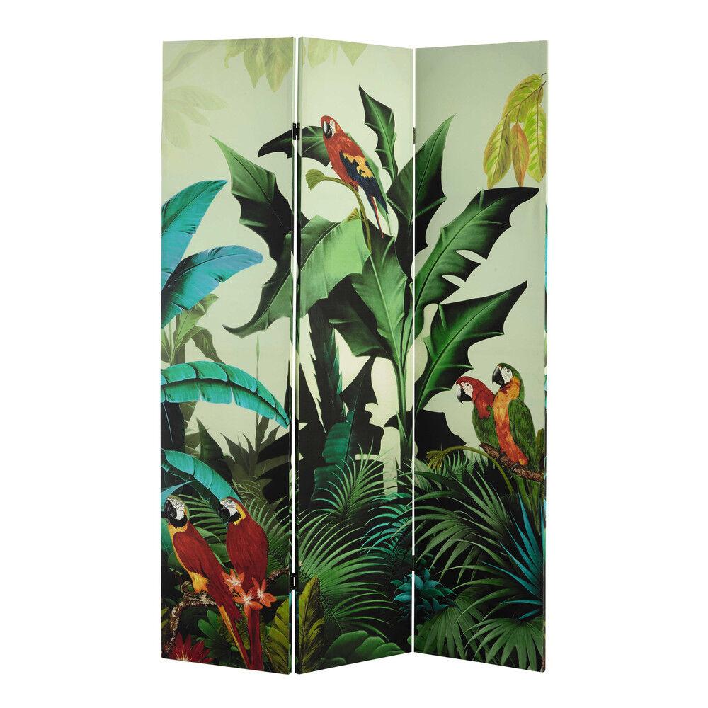 Maisons du Monde Biombo estampado tropical An. 121cm