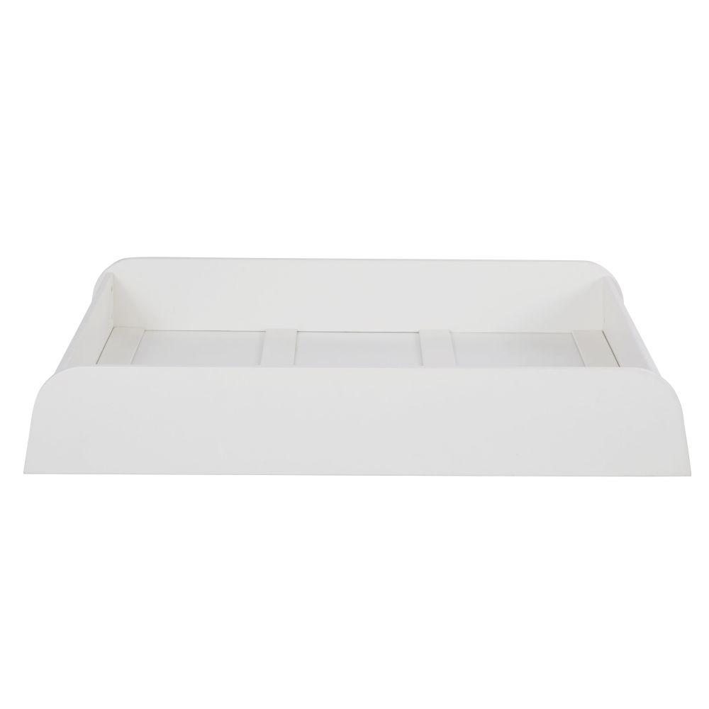 Maisons du Monde Cajón para cama evolutiva blanco con ruedas 125x95x22