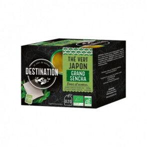Destination Bio Té Verde Japonés Grand Sencha Destination 20 uds.