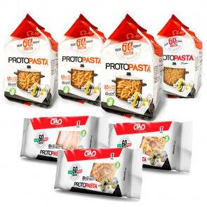CiaoCarb Pack Variado de Pasta Fase 1   7 unidades