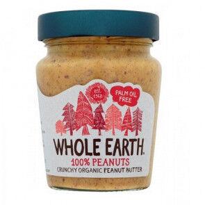 Whole Earth Crema de Cacahuete Crujiente Bio  227 g
