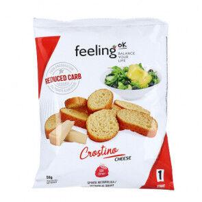FeelingOk Picatostes de Queso  Crostino Start 50 g