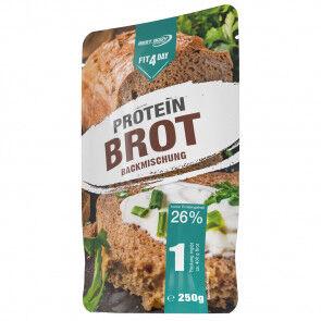 Fit4Day Preparado para Elaborar Pan Proteico Low-Carb  250 g