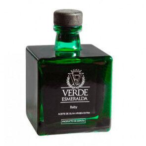 Verde Esmeralda Aceite de Oliva Virgen Extra  Baby Picual 100 ml