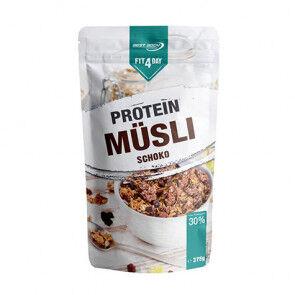 Fit4Day Cereales proteicos con Muesli y chocolate de  375g
