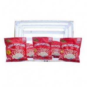 Purely Snacking Pack de 36 Lean Popcorn Palomitas Proteinadas Tomate Seco y Pesto