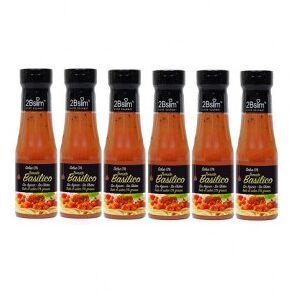 2bSlim Pack de 6 Salsa de Tomate con Albahaca 0%  250 ml