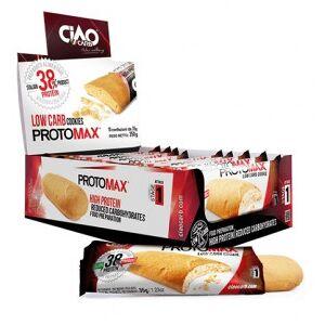 CiaoCarb Pack de 10 Galletas  Protomax Fase 1 Vainilla Limón