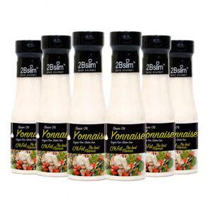2bSlim Pack de 6 Salsa Mayonesa 0%  250 ml