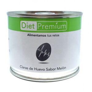 Diet Premium Burger, S.L.U. Claras de Huevo con Melón en Lata Diet Premium 125 g