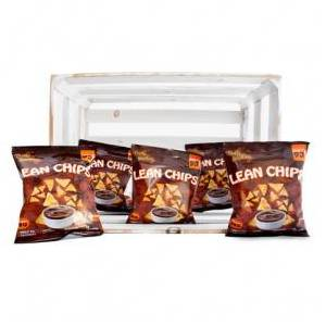 Purely Snacking Pack de 36 Lean Chips (Nachos Proteinados) Barbacoa