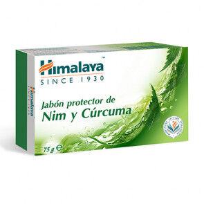 Himalaya Herbals Jabón de Nim y Cúrcuma Himalaya 75g