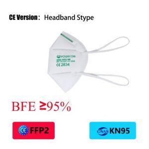 OutletSalud 10 X Mascarilla FFP2 POWECOM norma EN149:2001 filtrado respiratorio marcado CE