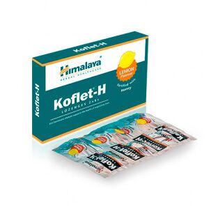 Himalaya Herbals Pastillas para el dolor de garganta Koflet-H Himalaya sabor limón12(2x6)