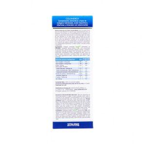 Vitalimax Nutrition Colanergy Forte Colágeno con Ácido Hialurónico y Micronutrientes  Jarabe 500 ml