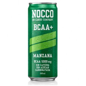 NOCCO Bebida Low-Carb BCAA+ sabor Manzana  330 ml