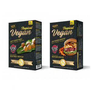 Natural Zero Hamburguesa Proteica Tropical Vegan  195g