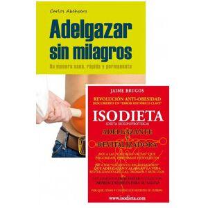 OutletSalud Pack Libros Adelgazar sin Milagros + Isodieta