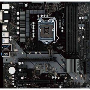 ASRock H370M Pro4 placa base LGA 1151 (Zócalo H4) Micro ATX Intel® H370